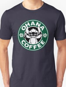 Stitch - Starbucks Unisex T-Shirt