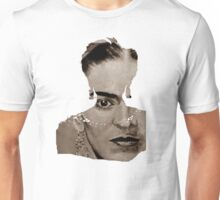 FRIDA - between worlds - sepia Unisex T-Shirt