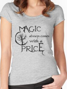 Once upon a time-quote Women's Fitted Scoop T-Shirt