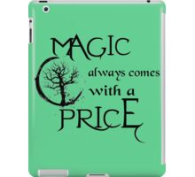 Once upon a time-quote iPad Case/Skin