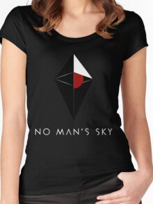 No Man's Sky Women's Fitted Scoop T-Shirt