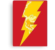 Flash Bolt Canvas Print