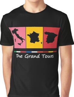Grand Tours Countries v2 Graphic T-Shirt