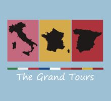 Grand Tours Countries v2 One Piece - Short Sleeve