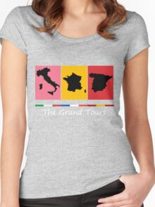 Grand Tours Countries v2 Women's Fitted Scoop T-Shirt