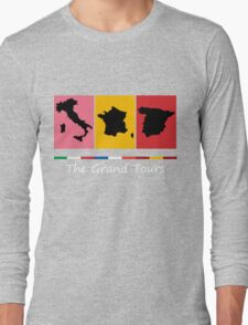 Grand Tours Countries v2 Long Sleeve T-Shirt