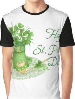 Happy Saint Patrick's day card Graphic T-Shirt