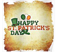 Happy Saint Patrick's day celebration Poster