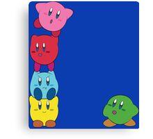 Kirby Totem Canvas Print