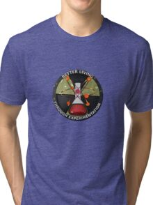 Atomic Better Living Through Experimentation Tri-blend T-Shirt