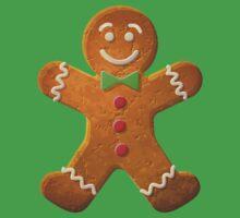 Gingerbread man One Piece - Short Sleeve