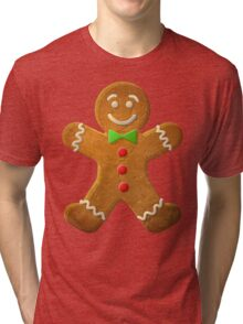 Gingerbread man Tri-blend T-Shirt