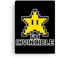 star invincible Canvas Print