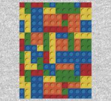 plastic blocks Kids Tee