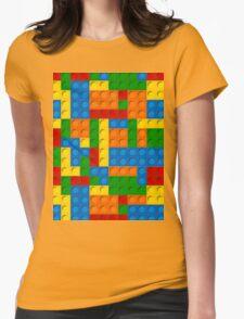 plastic blocks Womens Fitted T-Shirt