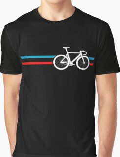 Bike Stripes Velodrome Graphic T-Shirt