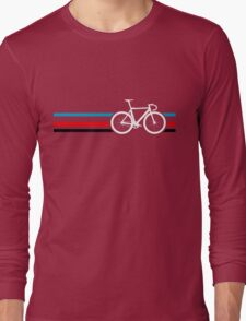 Bike Stripes Velodrome Long Sleeve T-Shirt