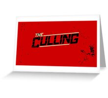 The Culling Red Greeting Card