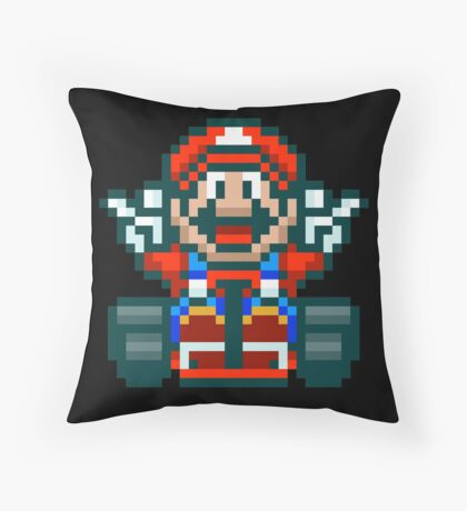 Super Mario Kart Victory Throw Pillow