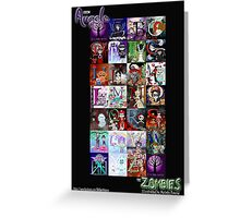 From Angels to Zombies Collection  Greeting Card
