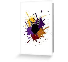 Spyro Splash Greeting Card