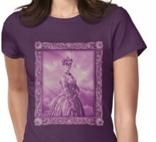 Lady Bonehead VINTAGE PURPLE Womens Fitted T-Shirt