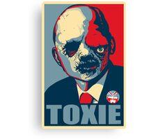 TOXIC AVENGER FOR PRESIDENT - VOTE TOXIE Canvas Print