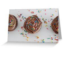Choco cupcakes Greeting Card