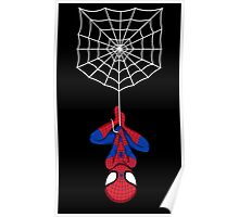 Spider on a shirt Poster