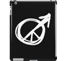 peace for men iPad Case/Skin