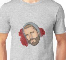 Men on Roses 3 - Eli Unisex T-Shirt