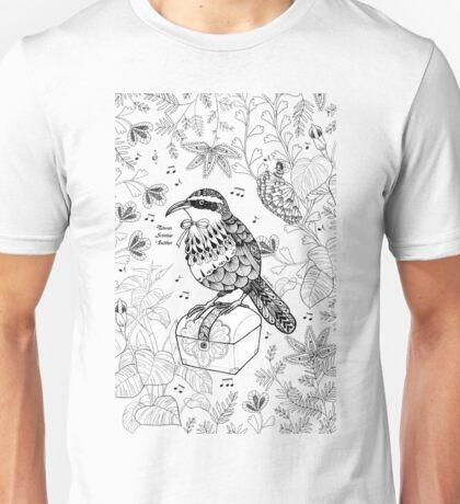 Taiwan Scimitar Babbler Unisex T-Shirt