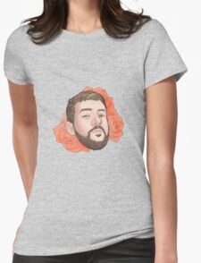 Men on Roses 5 - Kevin Womens Fitted T-Shirt