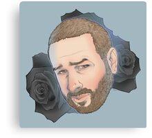 Men on Roses 6 - Jess Canvas Print