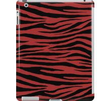 0023 Auburn,  Red-Brown or Brown (WWW) Tiger iPad Case/Skin