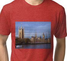 Houses of Parliament, London Tri-blend T-Shirt