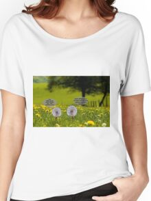 Dandelion whine Women's Relaxed Fit T-Shirt