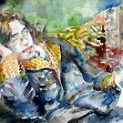 OSCAR WILDE - watercolor portrait.12 by lautir