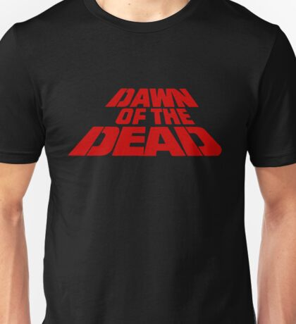 Dawn of the Dead (text) Unisex T-Shirt