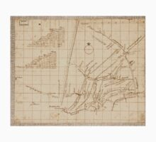 American Revolutionary War Era Maps 1750-1786 618 Mr Armstrong's rough draft of the country to the west of Susquehanna Kids Tee