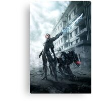 Metal Gear Rising Canvas Print