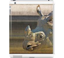 Big five: Rhinoceros iPad Case/Skin