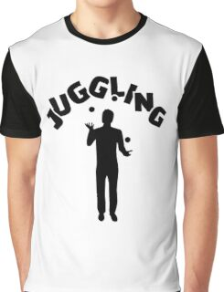 Juggling Graphic T-Shirt
