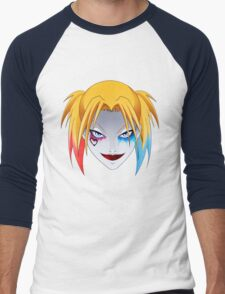 Comic Blonde Girl ORIGINAL Design (Movie Version) Men's Baseball ¾ T-Shirt
