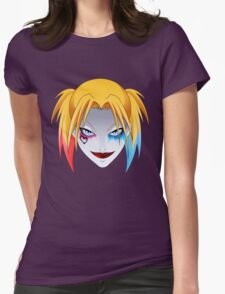 Comic Blonde Girl ORIGINAL Design (Movie Version) Womens Fitted T-Shirt