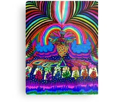 Psychedelic Abduction  Metal Print