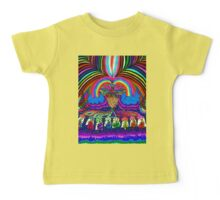 Psychedelic Abduction  Baby Tee