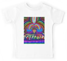 Psychedelic Abduction  Kids Tee