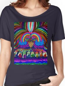 Psychedelic Abduction  Women's Relaxed Fit T-Shirt
