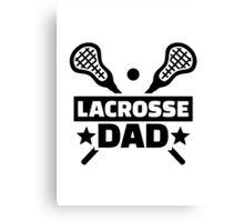 Lacrosse dad Canvas Print